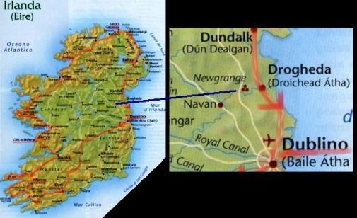 Cartina Geografica Irlanda Del Sud.L Alba Di Newgrange A Newgrange In Irlanda Un Sito Megalitico Ed Un Caso Di Archeoastronomia Tra I Piu Mirabili Al Mondo